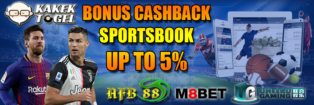 KAKEKTOGEL - Bonus Cashback Sportsbook Up To 5%